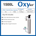 OxyKit Portable Medical Oxygen Cylinders (1500 Liters)