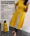 Cotton Plain Kurti