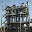 Evaporating Plant for Biomethnated Spent Wash