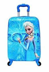 Blue Polycarbonate Kids Luggage Bag
