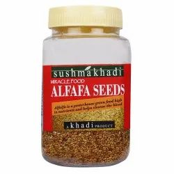 Sushmakhadi Natural Alfafa Seeds, Packaging Size: 200gm