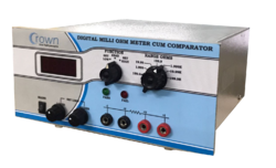 Digital Milli Ohm Meter Cum Comparator