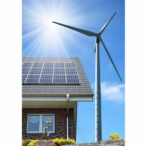 Solar Wind Hybrid System Hybrid Energy Wind And Solar 2