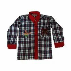 Ruchika Polyester Kendriya Vidyalaya Shirt, Size: 24-40