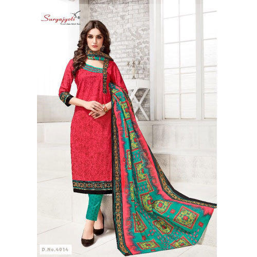 7fd5d03ed2 Cotton Party Wear Suryajyoti Stylish Churidar Suit, Rs 150 /piece ...