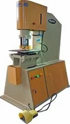 Plate Punching Machine