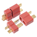 2pairs x Deans Style XT Plug Nylon T Connector Male - Female