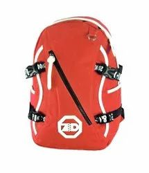 Light Red Colour College Bags