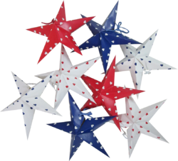 Christmas Decorative Stars Set