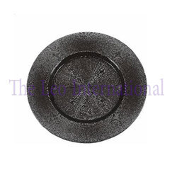 Iron Metal Designer Charger Plate