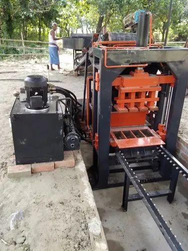 Interlocking Brick Making Machine.