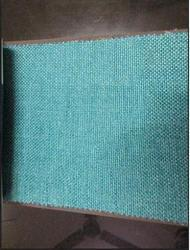 Blue Plain And Polyester Sofa Fabric