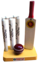 Promotional Cricket Bat  Ball & Stump Momentos