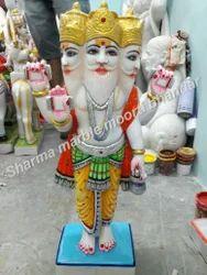Marble Brahmha Statue