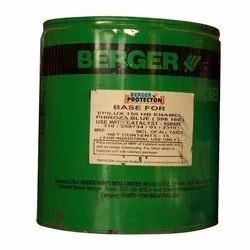 Berger Phiroza Blue (598 160) EPILUX 155 HB Enamel Paint, for industrial use only, Spray gun