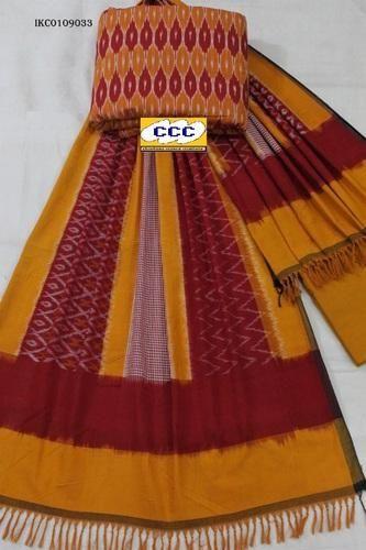 Casual Ikkat Cotton Suit