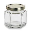 500 ml Hexagonal Glass Honey Jar