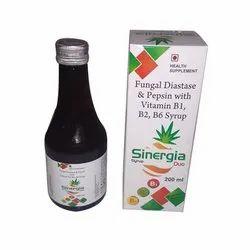 Fungal Diastase & Pepsin with Vitamin B1, B2, B6 Syrup