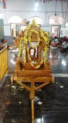 Teakwood Temple Ratham 5 Feet