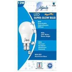 Aluminum 12W Wipro LED Bulb