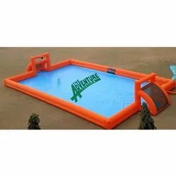 Soapy Football, 8+, Size: 70' x 40'