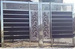 Stainless Steel Gates With Laser Cutting