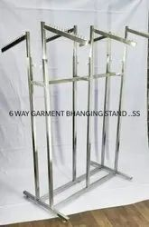 Garment 6 Way Hanging System