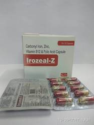 Carbonyl Iron Zinc, Vitamin B12 & Folic Acid Capsule