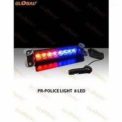 Global 8 PR LED Police Light