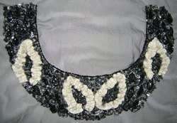 Shining Beaded & Sequins Necklines