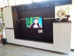 Wel Design Modern Plywood TV Cabinet, For Home