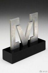 V Shape Metal Trophy