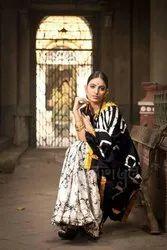 Casual Wear Batik Printed Saree