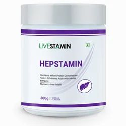 Hepstamin Liver Care Powder with Herbal Extracts and Protein Supplement
