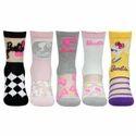 Bonjour Multicolor Barbie Socks For Girls