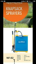 Battery Powered Knapsack Sprayer