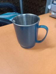 Stainless Steel Plastic Tea Cup, for Restaurant, Packaging Type: Box