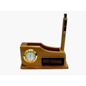 Brown Pg 679 Pen Stand, Size: 13.5x4.5x6.5 Cm