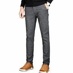 Comfort Fit Plain Mens Casual Pant