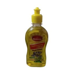 Koleenzo Yellow 250 Ml Dish Washing Gel, Packaging Type: Bottle