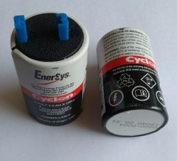 2V 5Ah Enersys Cyclon Battery