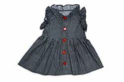 Cuddle Baby Girls Regular Fit Cotton Dress