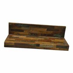 Fair Deal Handmade Sagwan Wood Hanging Shelf
