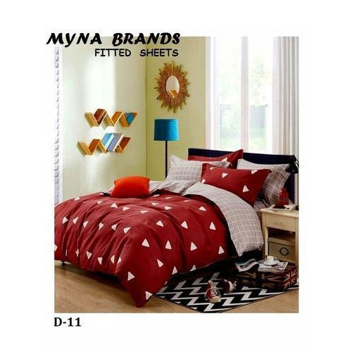 Myna Cotton Printed Fitted Bed Sheet Rs 850 Piece Myna Brands