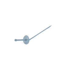 PVC Pointed Earthing Rod Assembly Round Disc Holder