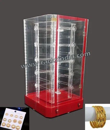 Modern Exhibition Stand Price : Jewellery showcase & racks rotating jewellery display cabinet