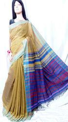 Linen Handloom Saree