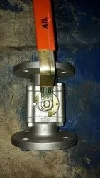 Audco Stainless Steel 3 Piece Flanged Ball Valve