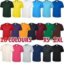 Cotton T-Shirt Round Neck  (Bio Wash)