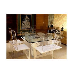 Acrylic Dining Set